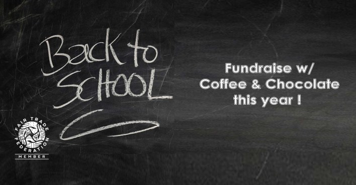 school fund raising fundraiser with coffee