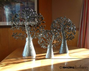 tree of life sculptures, Singing Rooster