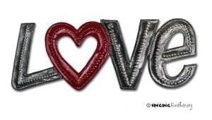 buy word art love online