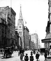 Tin Pan Alley in the late 19th Century