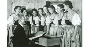 Trapp Family Singers with Father Franz Wagner
