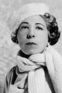 Edna Ferber, author of Showboat