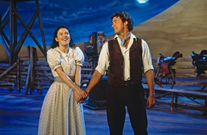 Stage version of Oklahoma! starring Hugh Jackman