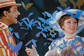From the movie Mary Poppins staring Julie Andrews and Dick Van Dyke