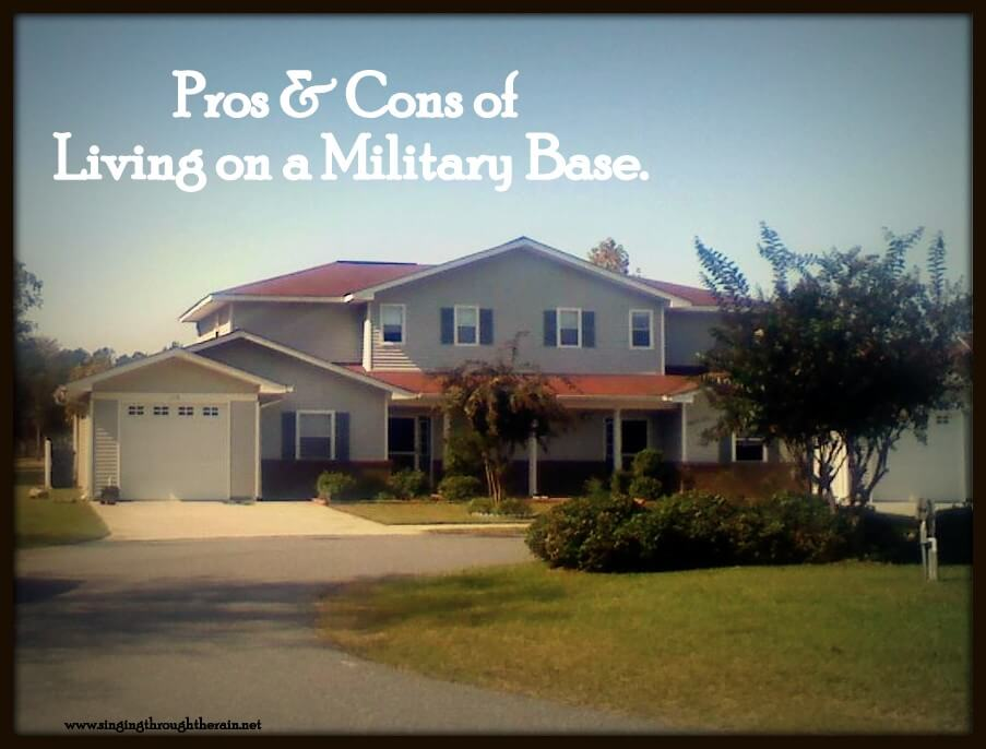 Pros and cons of living on a military base singing Pros and cons of living in an apartment