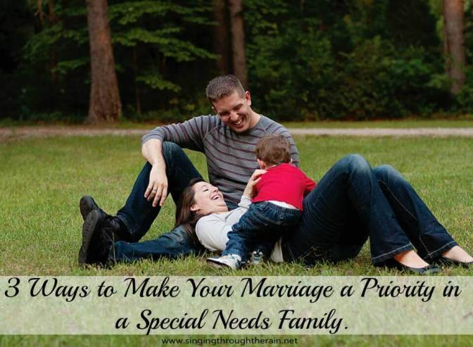 Special Needs and Marriage