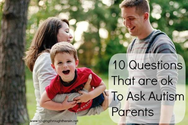 Questions to Ask Autism Parents