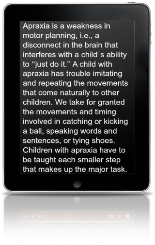 What is Apraxia?