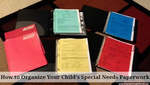 Ask Kathryn: How do I Organize my Child's Special Needs Paperwork?