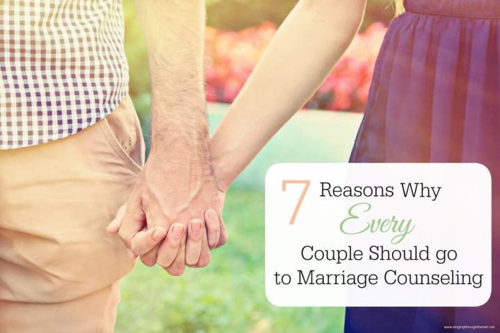 Why Every Couple Should go to Marriage Counseling