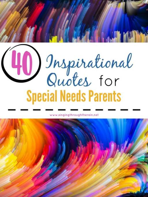 Inspirational Quotes for Special Needs Parents