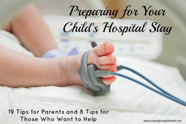Preparing for Your Child's Hospital Stay