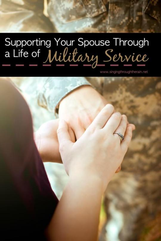 Supporting Your Spouse Through a Life of Military Service
