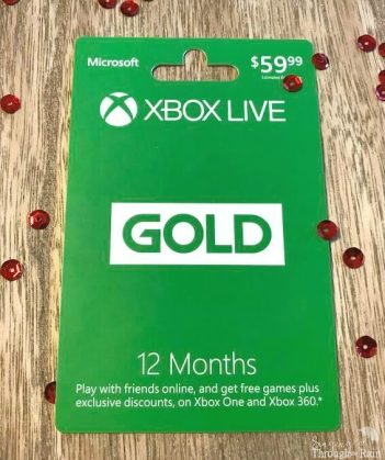 xbox live gift card