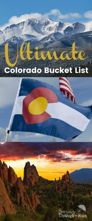 Ultimate Colorado Bucket List