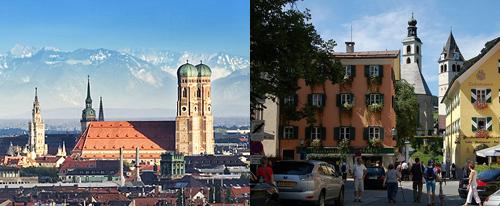 München Kitzbühel Skyline