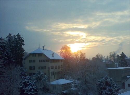 Wintermorgen 2010