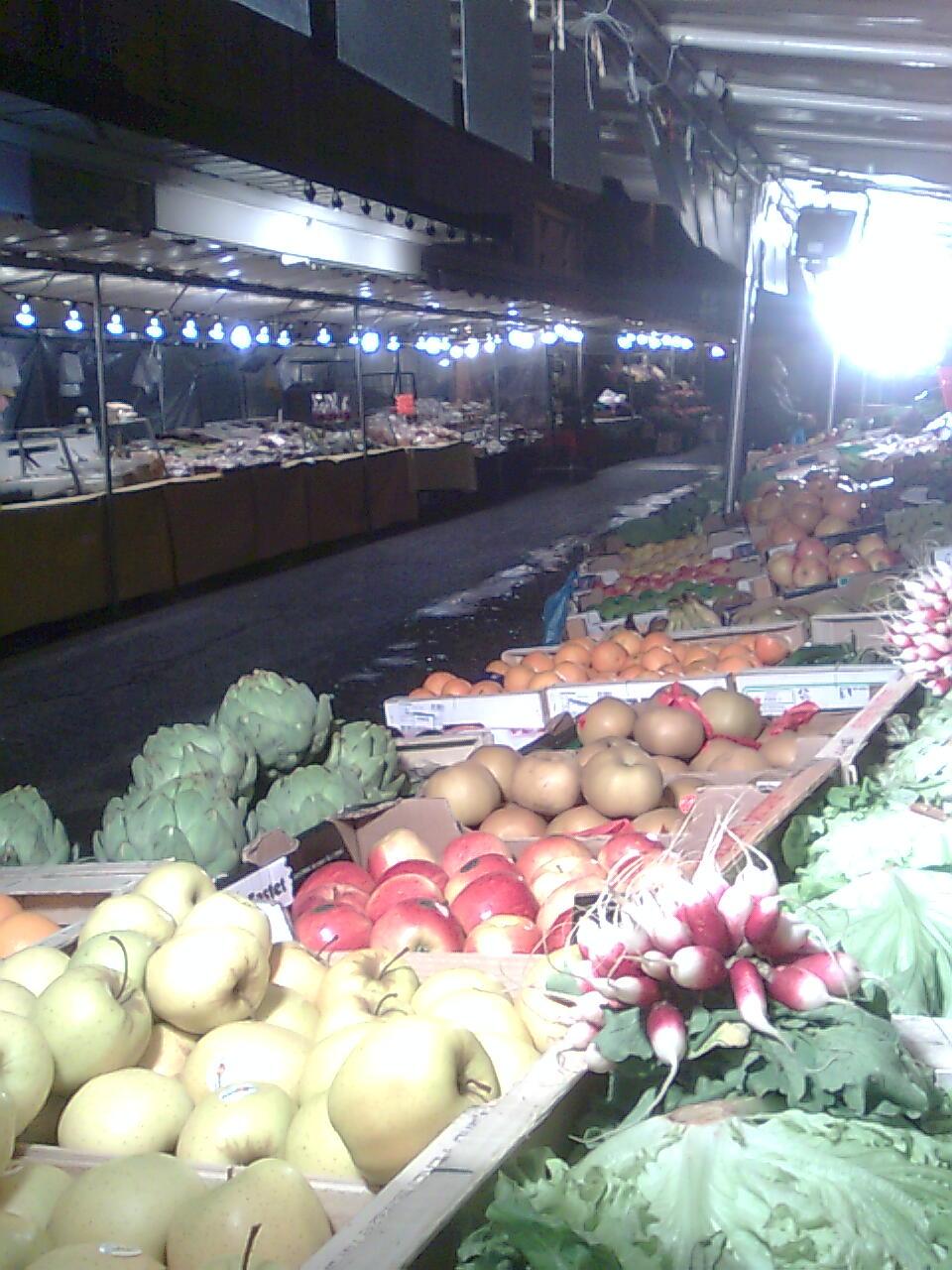 marché du soir