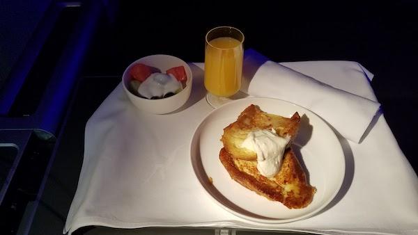 Qantas 747-400 Business Class