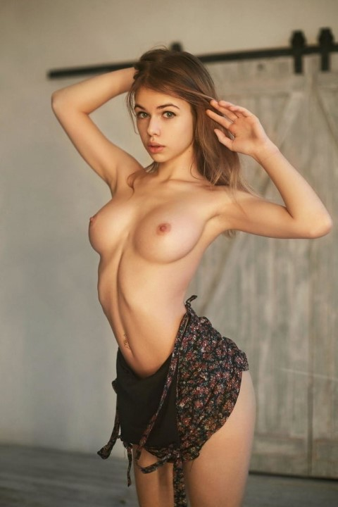 Russian Girl With Nice Boobs
