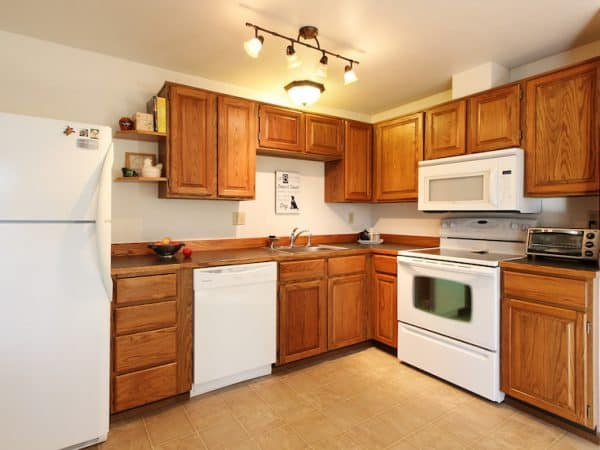 kitchen updates appliance packages super thrifty you can do in a weekend single