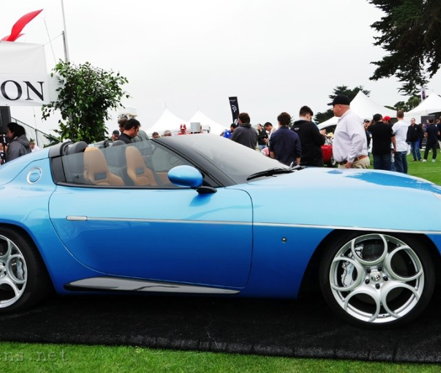 Alfa Romeo Disco Volante Spyder By Carrozzeria