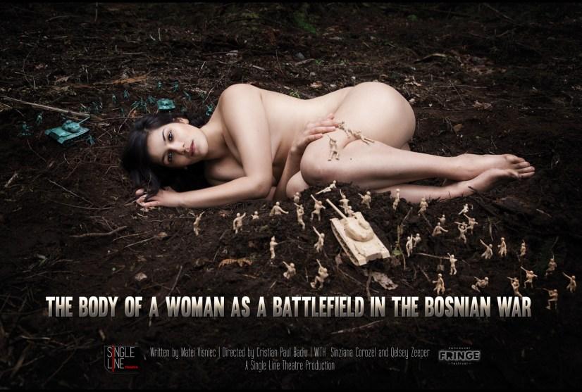 The Body of a Woman as a Battlefield in the Bosnian War - Publicity Photo