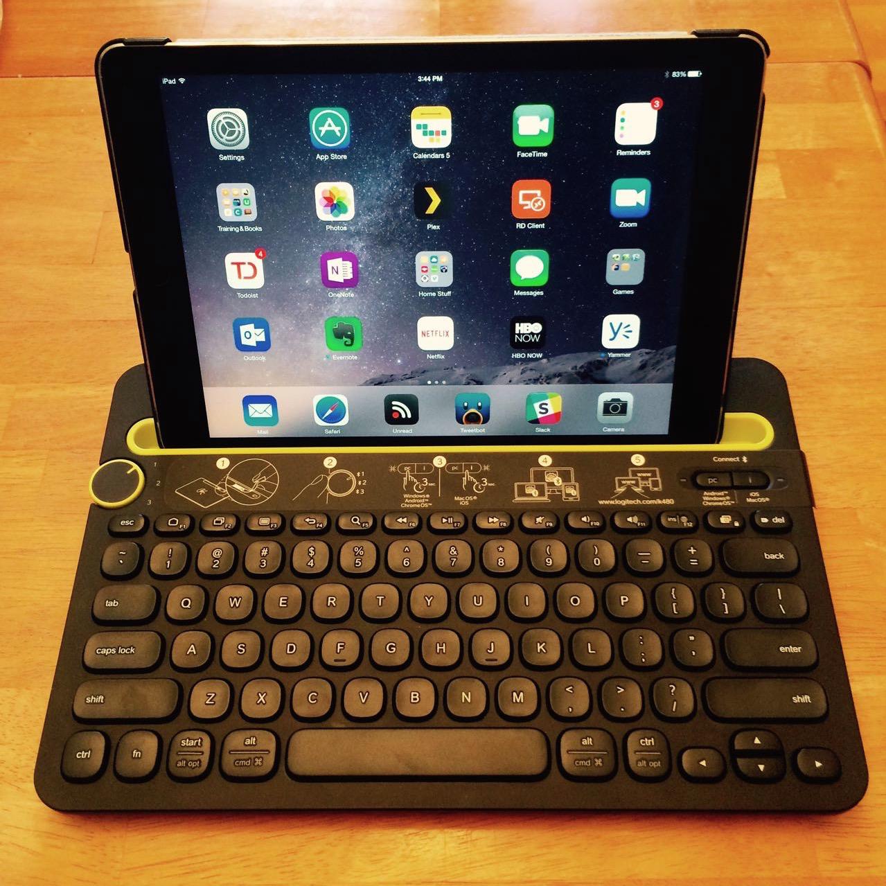 Logitech Multi-Device Keyboard K480 – First Impressions | Single Malt Cloud