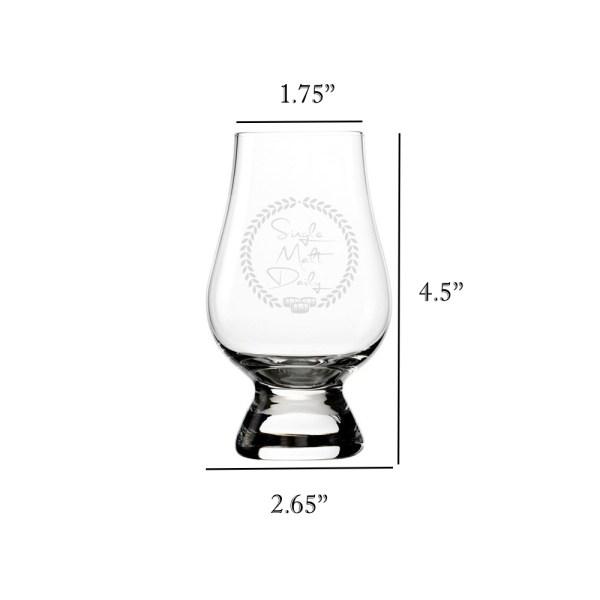 Glencairn Glass Size