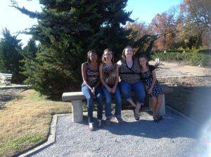 Terri and her three daughters