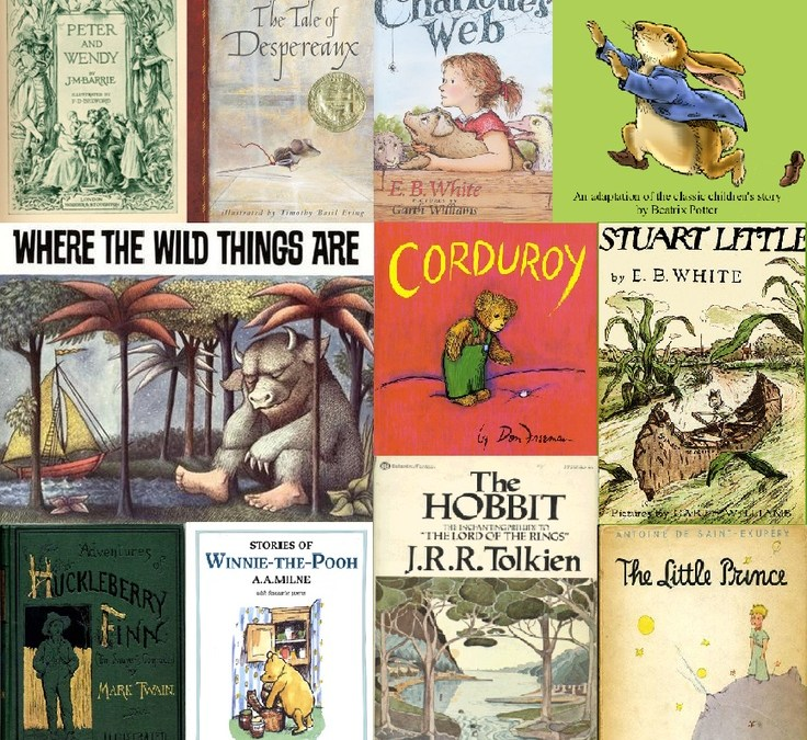 Do You Still Remember Your Favorite Children's Books?