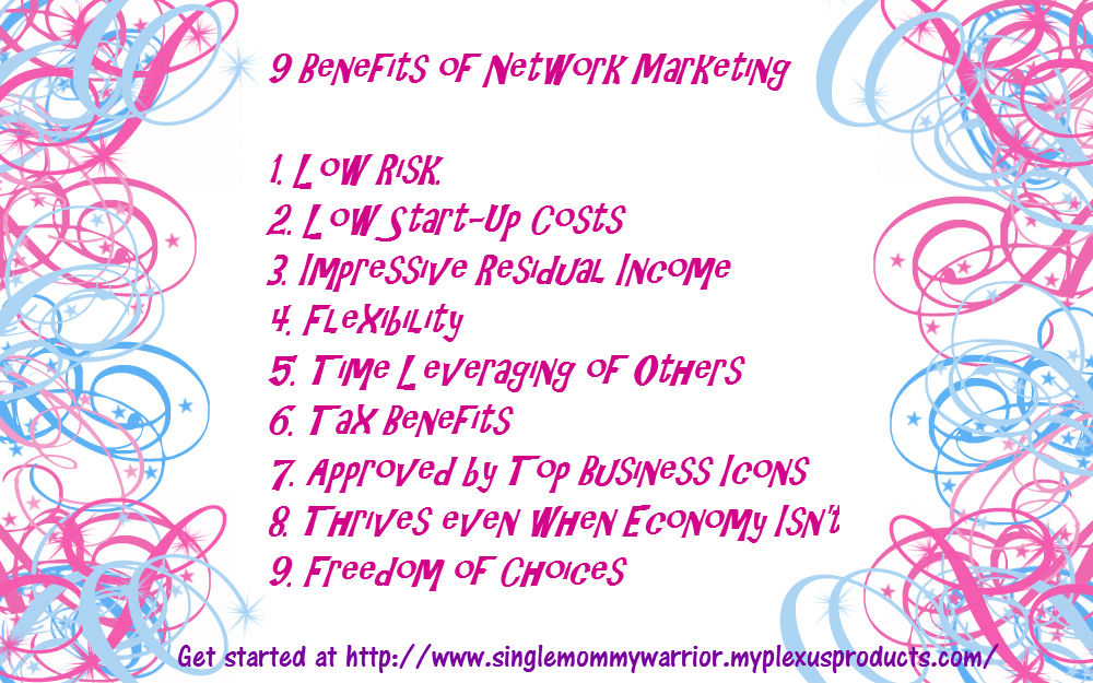 9 Benefits of Network Marketing