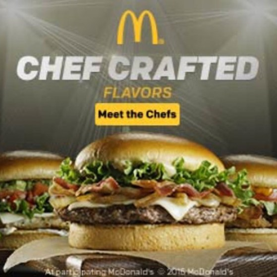 Mcdonald's Chef Crafted Burger