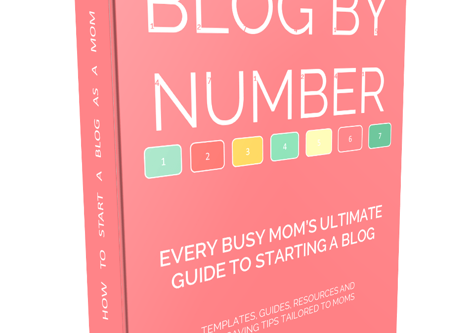 How to Start a Mom Blog (or any other niche blog)