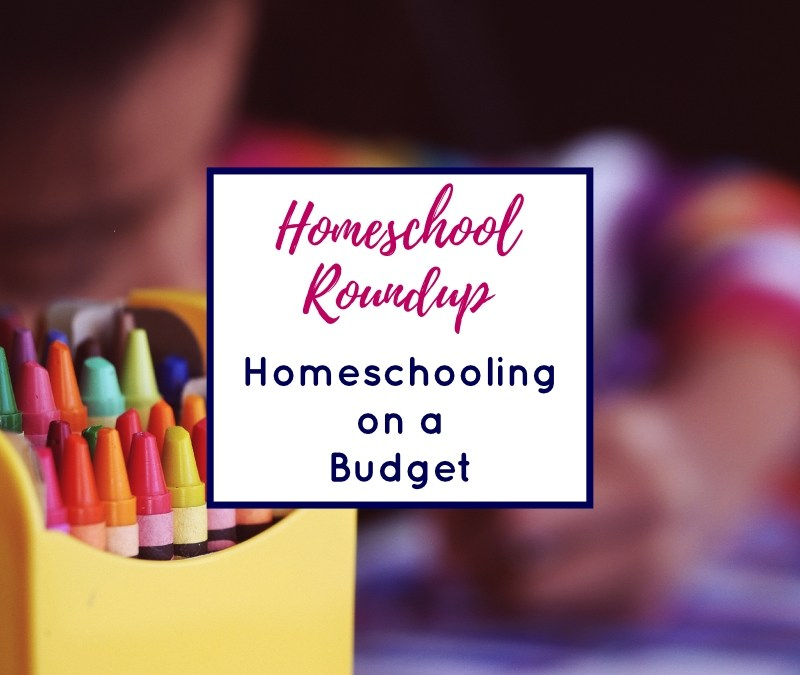 Homeschool Roundup: Homeschooling on a Budget