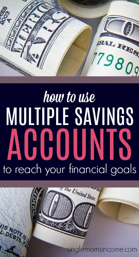 The best way to reach your financial goals is to set up multiple savings accounts. This way, you can separate your money accordingly and track your progress on each goal.