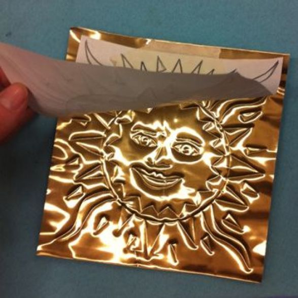 Foil drawing