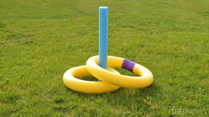 Outdoor Pool Noodle Games