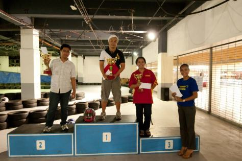 Star Karting Bloggers winners