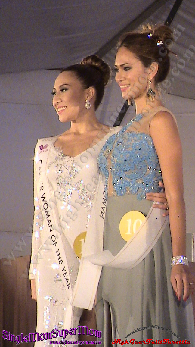Mrs. Career Woman of the Year and Mrs. Elegant in Gown