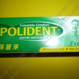 How to use Polident Denture Adhesive Cream