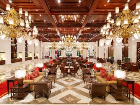 Manila Hotel Main Lobby