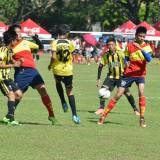 Coca Cola Football Festival and healthy living