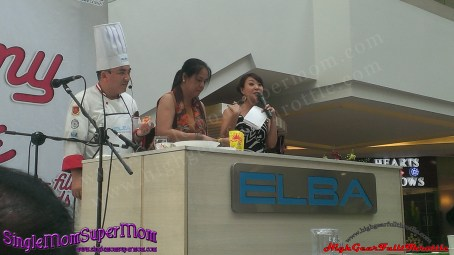Melaware MOmmy and Me cooking demo 2