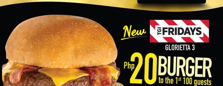 TGIF 20 Burger