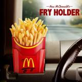 McDonalds Fry Holder on the road
