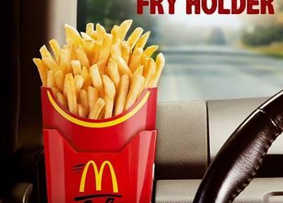 McDonalds Fry Holder