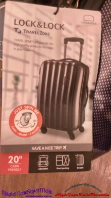 Lock & Lock Travel Zone Luggage c