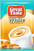 Great Taste White Smooth & Caramelly 3in1 sachet