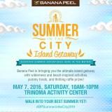 Banana Peel brings Summer in the City: Island Getaway